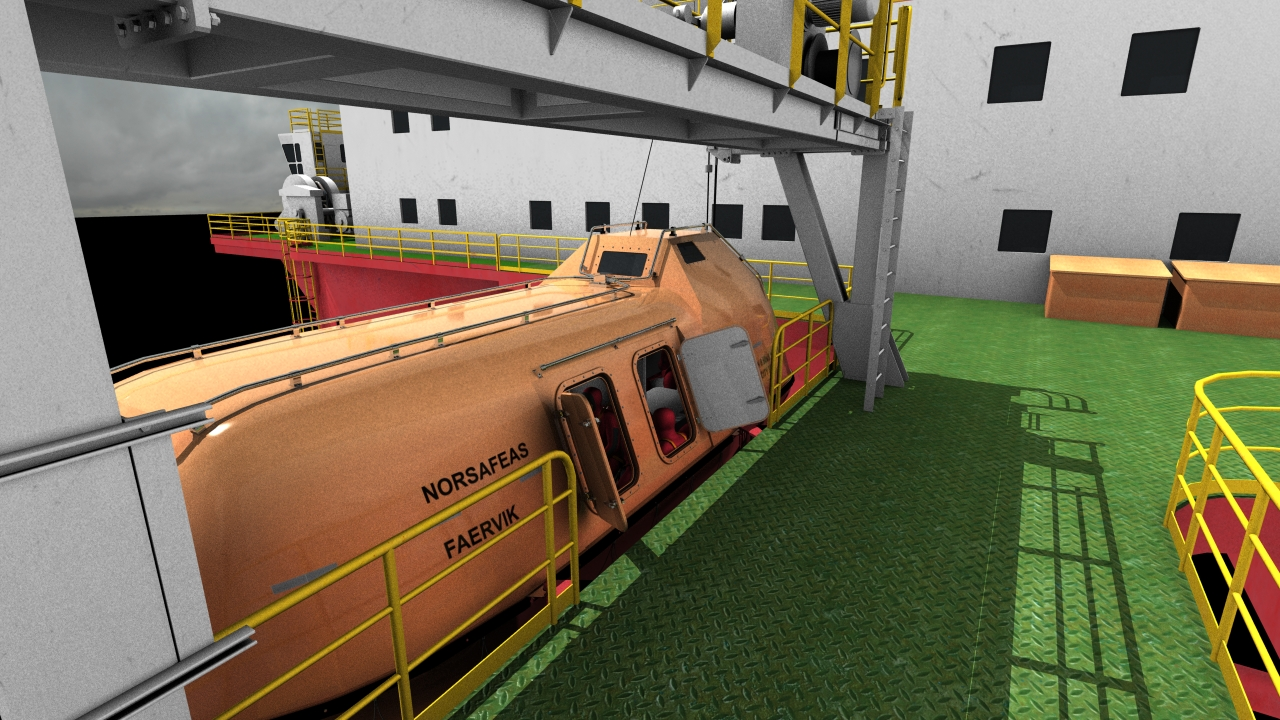Shiny life boat test2 6minnew