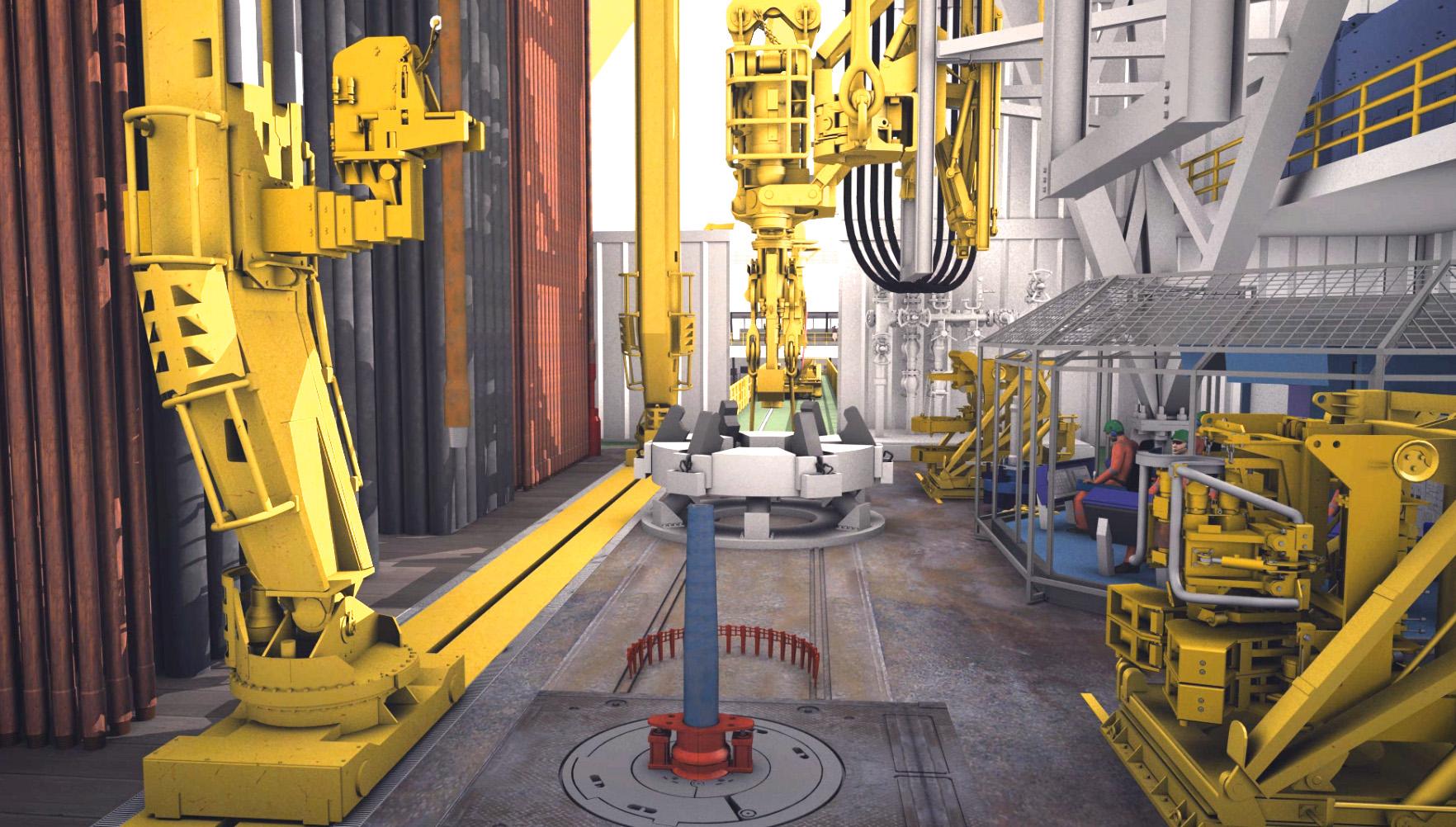 animation and drillship 03