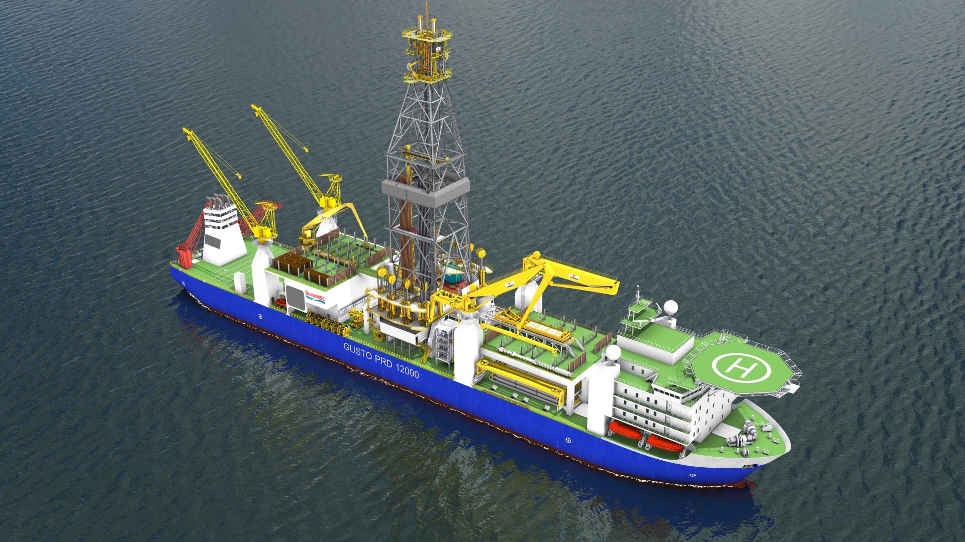 gusto-msc-prd-12000-qdrill-drillship-3d-model