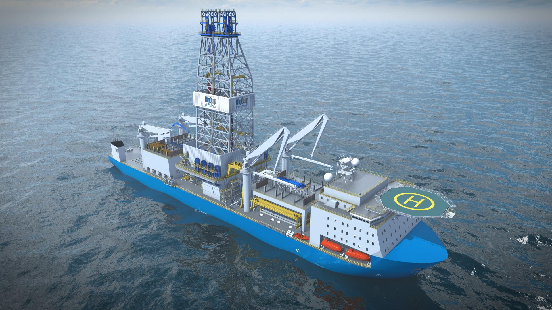rigquip-international-drillship-3d-model