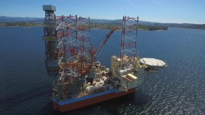 Maersk Integrator Drone Movie